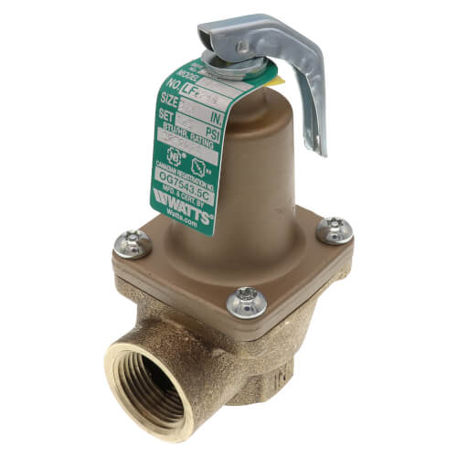 """3/4"""" LF174A Lead Free Relief Valve (125lb) Product Image"""