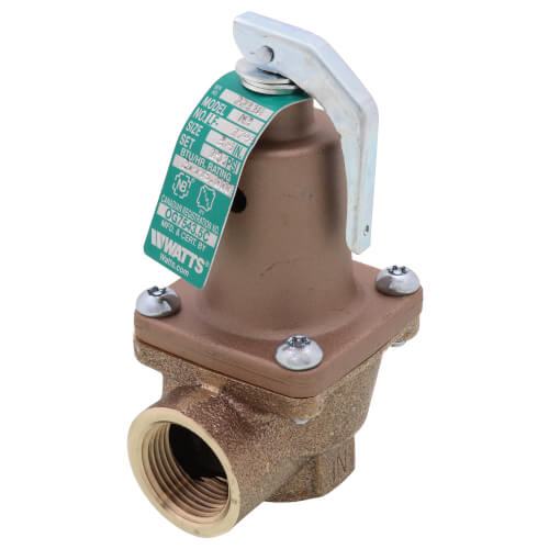 """3/4"""" LF174A Lead Free Relief Valve (150lb) Product Image"""
