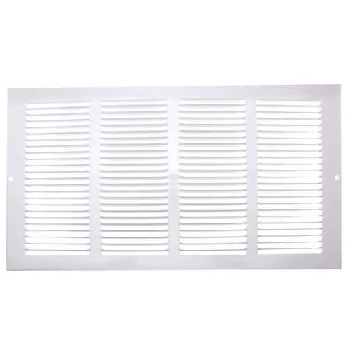 """14"""" x 6"""" (Wall Opening Size) Golden Sand Return Air Grille (650 Series) Product Image"""