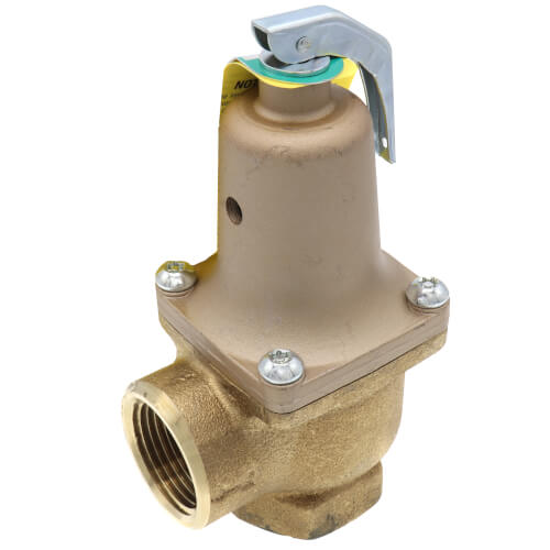 """1"""" LF174A Lead Free Relief Valve (125 lb) Product Image"""