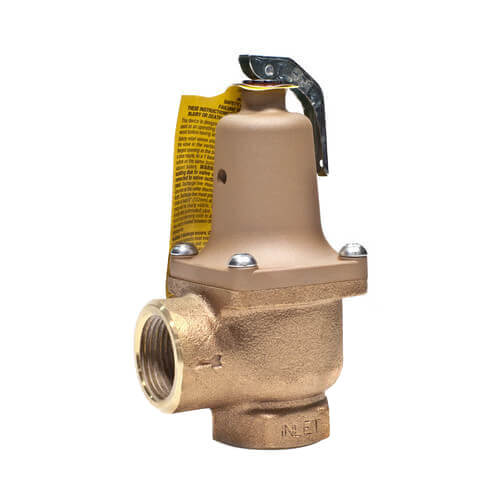 """1-1/4"""" LF174A Lead Free Relief Valve (75 lb) Product Image"""