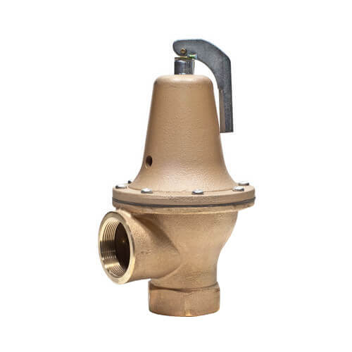 "2"" LF174A Lead Free Relief Valve (75 lb) Product Image"