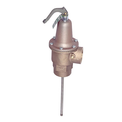 """1-1/2"""" Lead Free Automatic Reseating Pressure Relief Valve, 125 psi Product Image"""