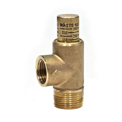 "3/4"" 530C Poppet Style Relief Valve, 100-300 psi Adjustable (Lead Free) Product Image"