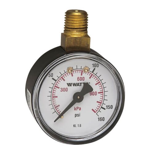 "LFDPG5 2"" Pressure Gauge Lead Free (0-160 psi) Product Image"
