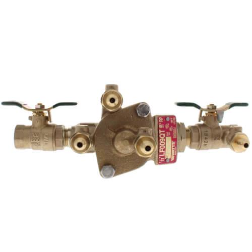 "LF009-QT-S 1/2"" RPZ w/ Bronze Strainer (Lead Free) Product Image"