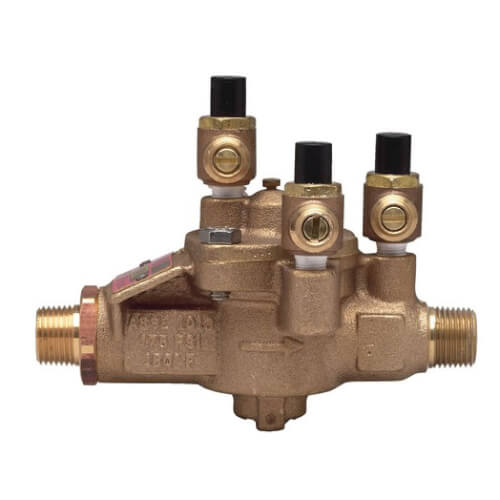 """LF009M2-LF-UL 2"""" Bronze RPZ Backflow Preventer Assembly (Lead Free) Product Image"""