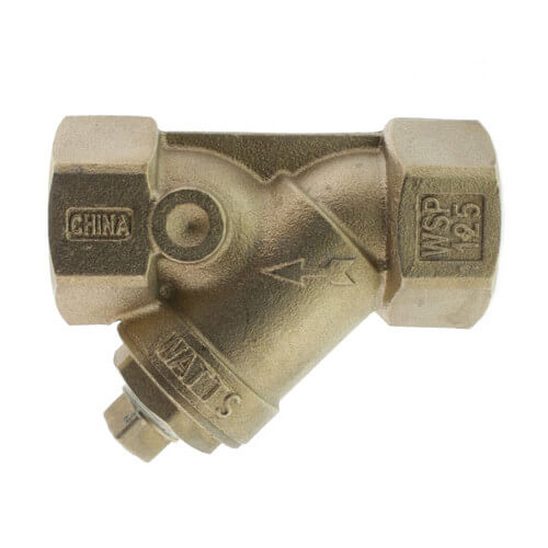 "1-1/4"" 650A Wye Strainer, Lead Free (Threaded) Product Image"