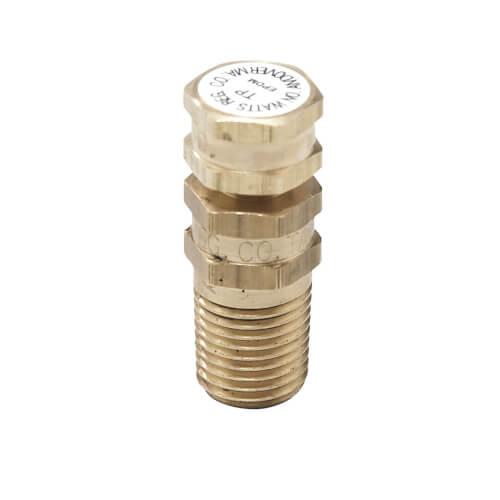 "1/4"" Brass Test Plug, Lead Free (EPDM) Product Image"