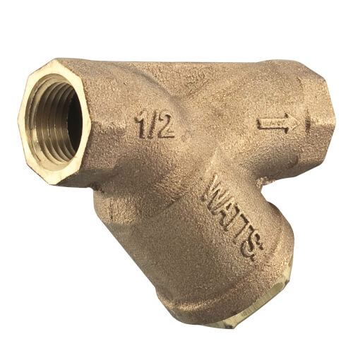 "2"" LF777SM3-80 Lead Free Bronze Wye Strainer (Threaded) Product Image"