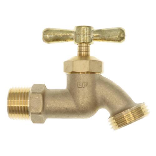 "LFSC-5, 1/2"" Male x Hose Bibb Sillcock w/ Tee Handle (Lead Free) Product Image"