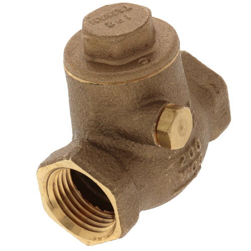 "1/2"" LFWCV Lead Free Brass Swing Check Valve Product Image"