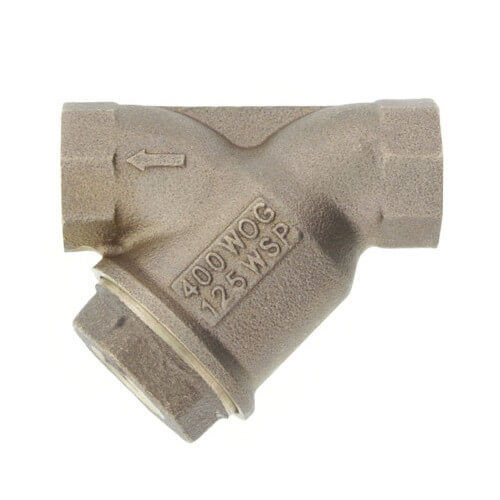 "3/4"" LF777SM1-20 Lead Free Bronze Wye Strainer (Threaded) Product Image"