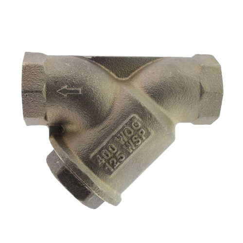 "1"" LF777SM1-20 Lead Free Bronze Wye Strainer (Threaded) Product Image"