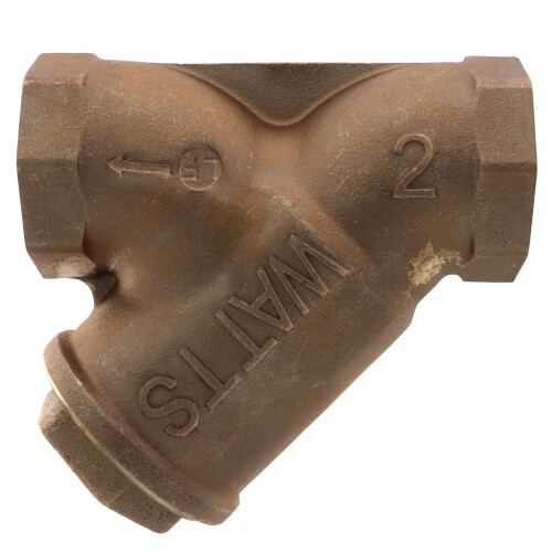 "2"" LF777SM3-20 Lead Free Bronze Wye Strainer (Threaded) Product Image"