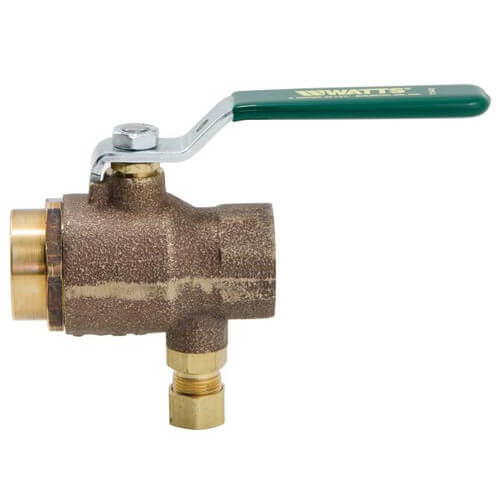 "3/4"" NPT LFBRVT Combination Ball & Relief Valve (Lead Free) Product Image"