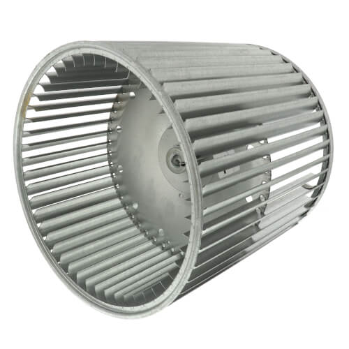 """10-5/8"""" Double Inlet Blower Wheel with Direct Drive, CCW (1/2"""" Bore) Product Image"""