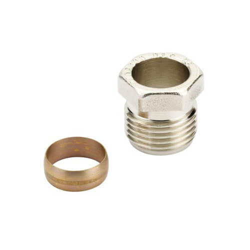 Compression Fittings for Steel and Copper Product Image