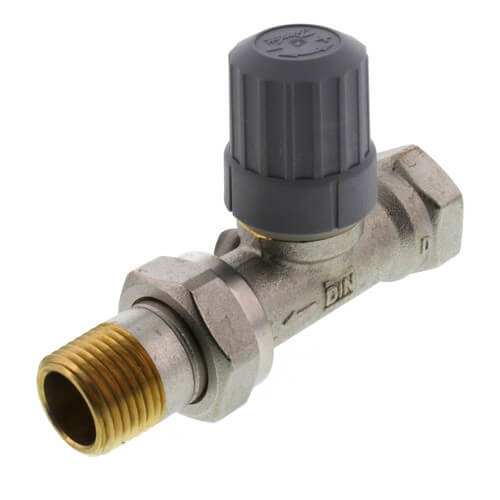 "1/2"" Straight Thermostatic Radiator Valve Product Image"