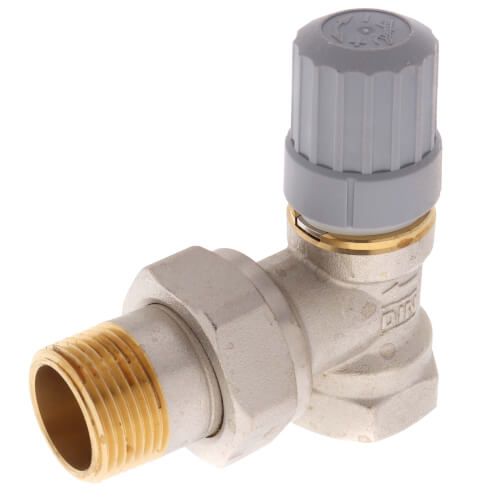 "3/4"" Angle Thermostatic Radiator Valve Product Image"