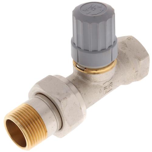 "3/4"" Straight Thermostatic Radiator Valve Product Image"