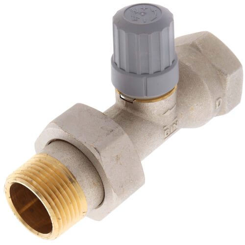 "1"" Straight Thermostatic Radiator Valve Product Image"
