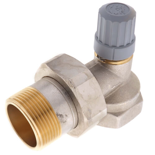 "1-1/4"" Angle Thermostatic Radiator Valve Product Image"
