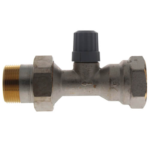"1-1/4"" Straight Thermostatic Radiator Valve Product Image"