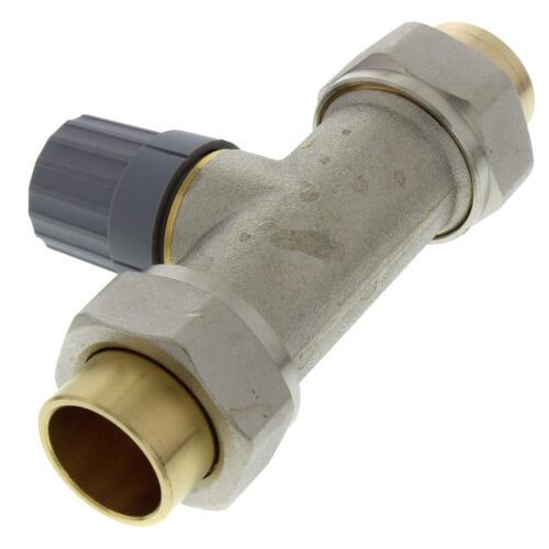 013g8042 Danfoss 013g8042 12 Straight Thermostatic Radiator