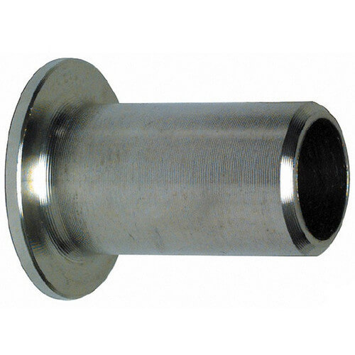 "1-1/4"" Sch 40 Stainless Steel Butt-Weld Stub End Product Image"