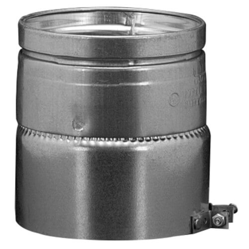 """7"""" B Round Gas Vent Adapter (7RAA) Product Image"""