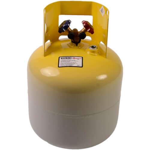 """50 lb. Refrigerant Recovery Cylinder, 3/4"""" NPT Plug Product Image"""