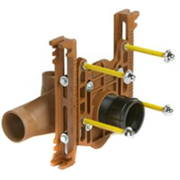 Right Hand Adjustable Fixture Supports for Siphon Jet Water Closets (No Hub) Product Image