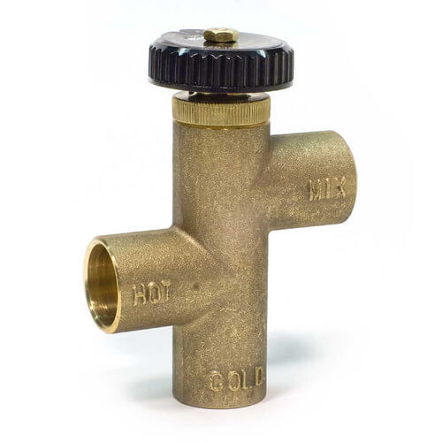 """3/4"""" LF70A Lead Free Sweat Tempering Valve (120° -160°) Product Image"""