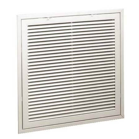 "14"" x 20"" (Wall Opening Size) White Steel Fixed-Bar Filter Grille (96AEB Series) Product Image"