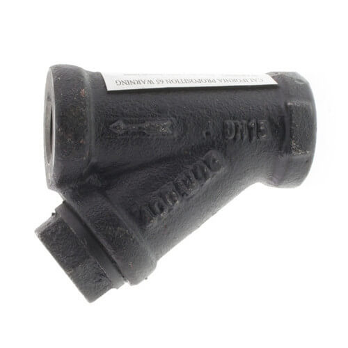 """1/2"""" 77SI Cast Iron Wye Strainer (Threaded) Product Image"""