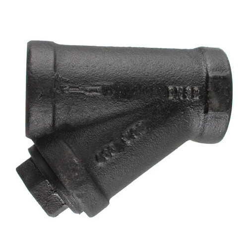 """1-1/4"""" 77SI Cast Iron Wye Strainer (Threaded) Product Image"""