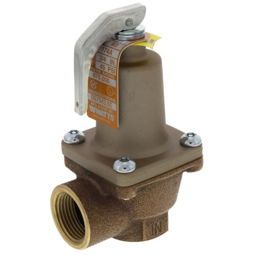 "3/4"" 174A Relief Valve (45 psi) Product Image"