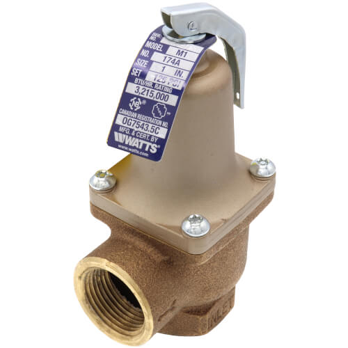 "1"" 174A Relief Valve (125lb) Product Image"
