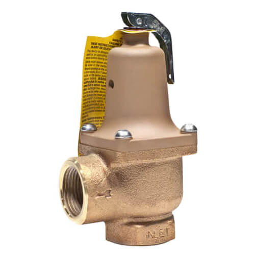 """1-1/2"""" LF174A Lead Free Relief Valve (80 lb) Product Image"""