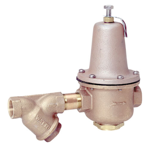 """1-1/2"""" LF223S Lead Free High Capacity Pressure Valve w/ Strainer Product Image"""