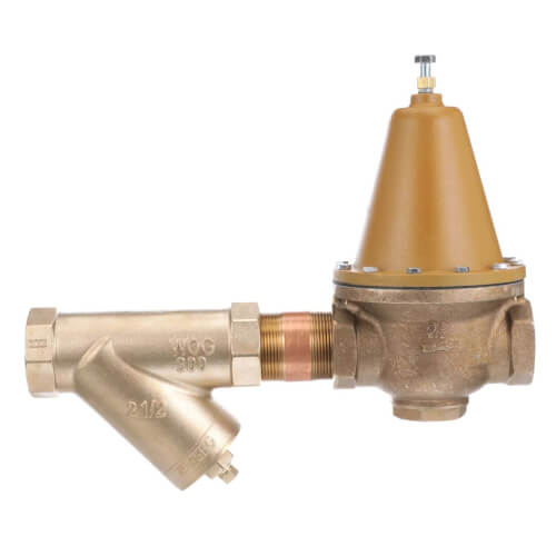 "2-1/2"" LF223S Lead Free Bronze High Capacity Pressure Valve w/ Strainer Product Image"