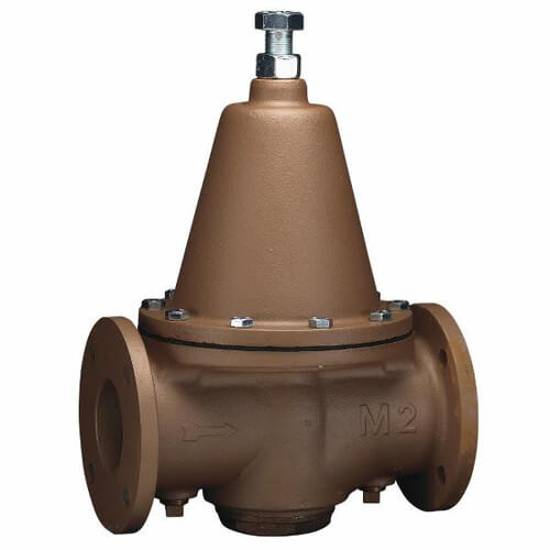 """3"""" LFN223F Lead Free Iron Flanged High Capacity Pressure Valve Product Image"""