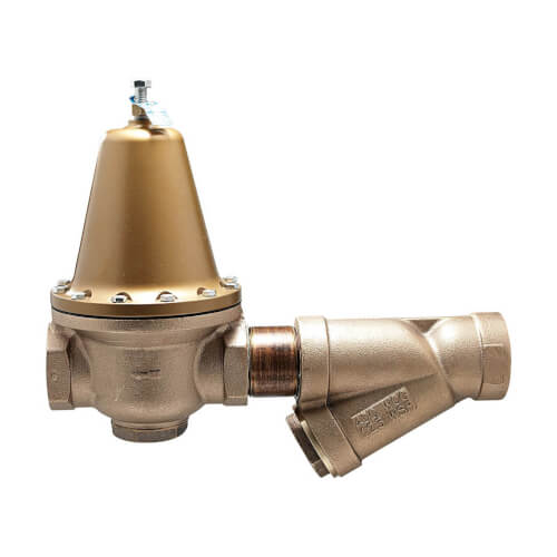 """3"""" LF223S Lead Free Iron Flanged High Capacity Pressure Valve w/ Strainer Product Image"""