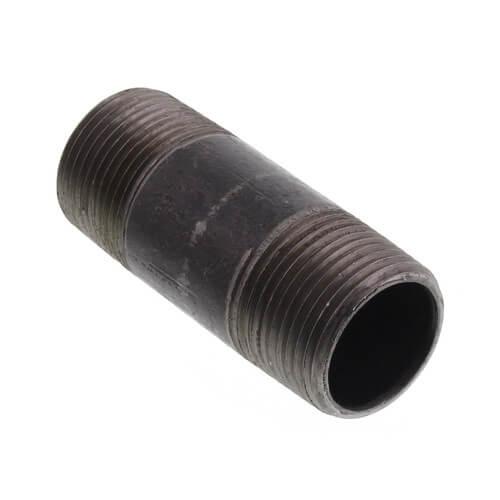 """3/4"""" x 2-1/2"""" Black Nipple Product Image"""
