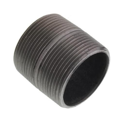 "1-1/2"" x Close Black Nipple Product Image"