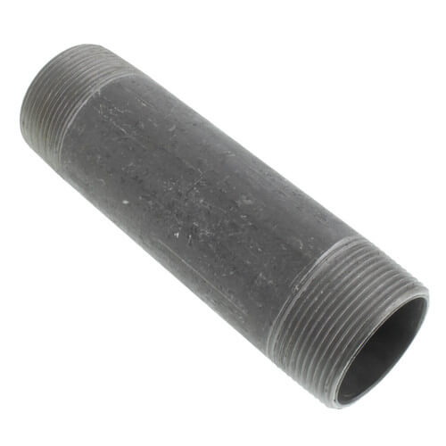 """1-1/2"""" x 6"""" Black Nipple Product Image"""