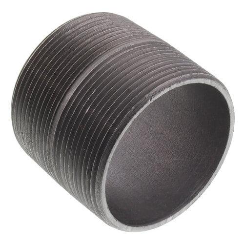 "2"" x Close Black Nipple Product Image"