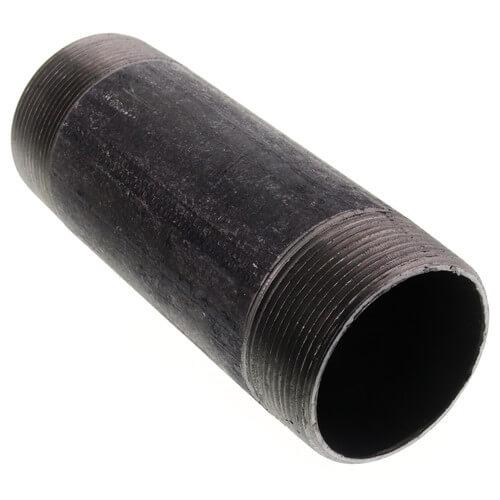 """2"""" x 6"""" Black Nipple Product Image"""