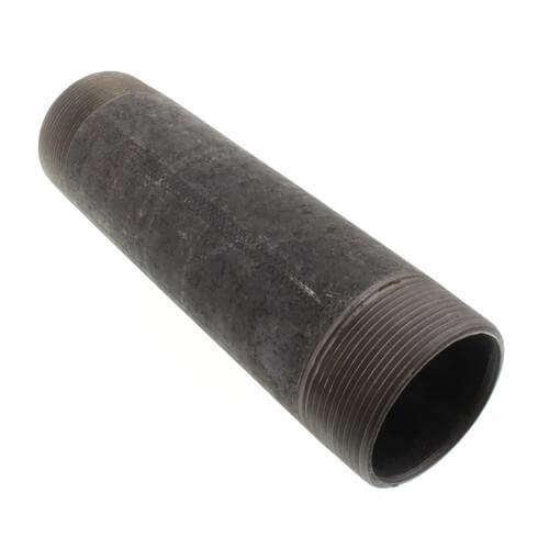 """2"""" x 8"""" Black Nipple Product Image"""